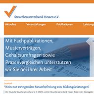 Steuerberaterverband Hessen [Werbung, Website]